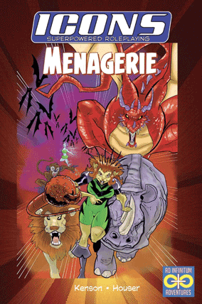 Icons Menagerie cover