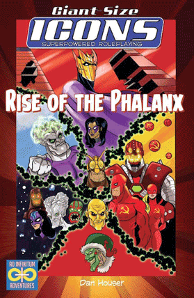 Icons Rise of the Phalanx cover