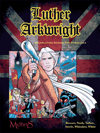 Luther Arkwright roleplaying game rulebook cover