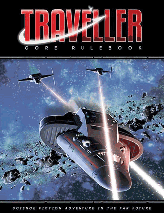 Mongoose Traveller Second Edition core rulebook cover