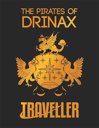 Traveller The Pirates of Drinax cover