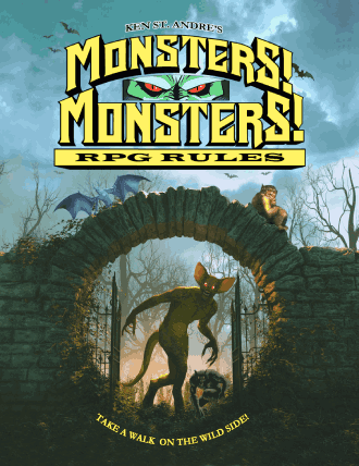 Monsters Monsters Second Edition rulebook 2021