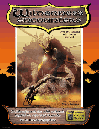 Catalyst Wilderness Encounters supplement from Flying Buffalo