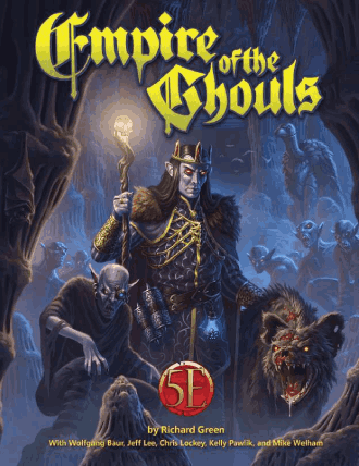 Kobold Press Empire of the Ghouls for Fifth Edition