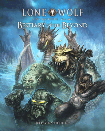 Lone Wolf Adventure Game Bestiary of the Beyond