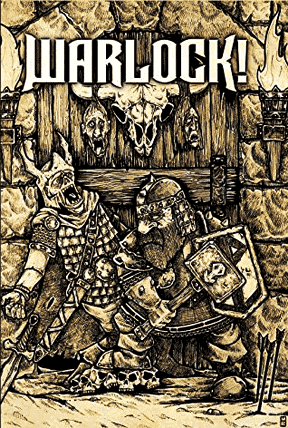 Warlock fantasy roleplaying game from Fire Ruby Designs