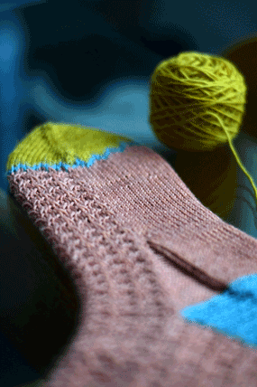 Colour Therapy Socks 1