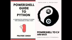 PowerShell + Python + C#