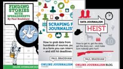 data journalism books bundle