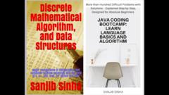 Discrete Mathematics, Algorithm, Data Structures and Java Coding Bootcamp