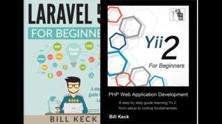 Laravel 5.4 and Yii 2 PHP Frameworks