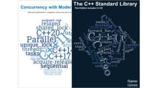 """The C++ Standard Library"" and ""Concurrency with Modern C++"""