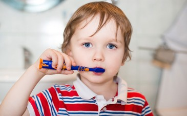 Tips for brushing your toddler's teeth
