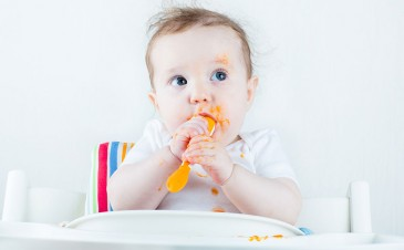 QOD: Why shouldn't I give my baby solid food for 6 months?