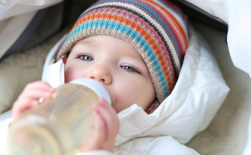 Is it OK to give cold formula to my baby?
