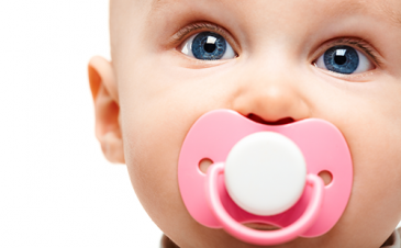How can I wean my baby from a pacifier?