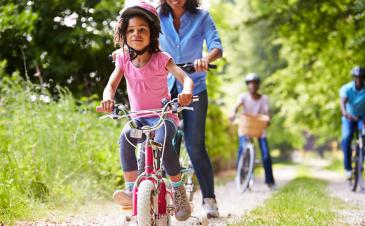 How do I teach my toddler to wear a bike helmet?