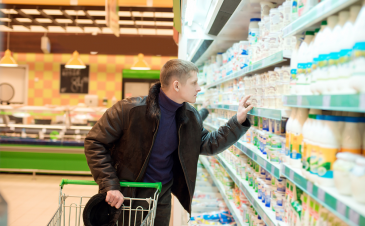 QOD: What is the difference between refrigerated milk and milk that is sold on the shelf at room temperature at the grocery store?