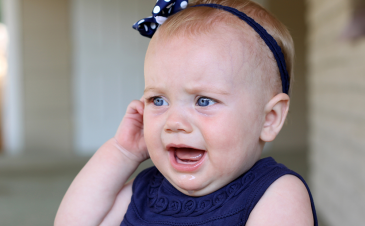 Are ear infections contagious?