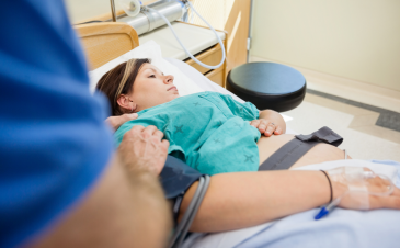 Do I have to have an IV when I am in labor?