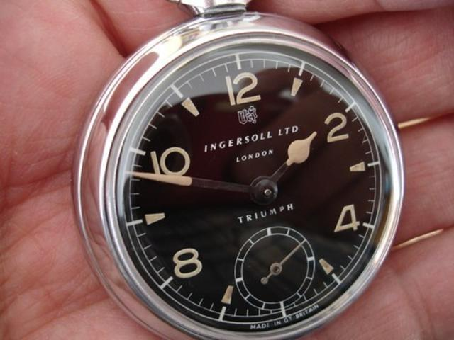 Ingersoll triumph pocket watch dating 1