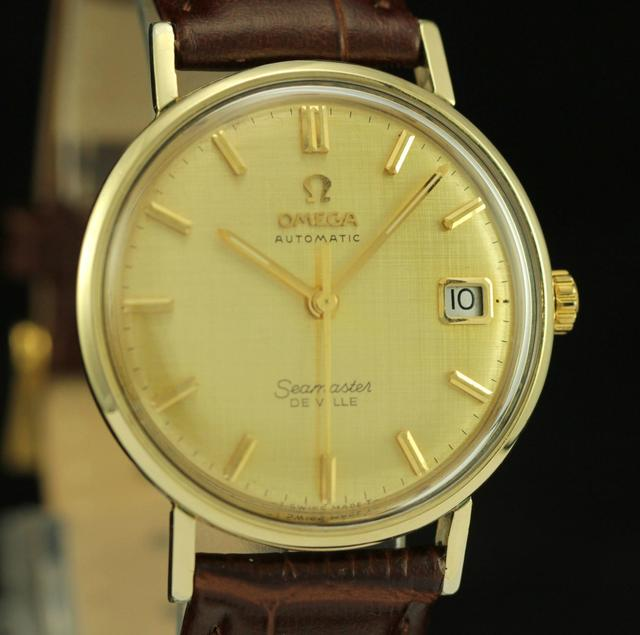 47b1a098a0d Omega Seamaster Gold Watch « One More Soul