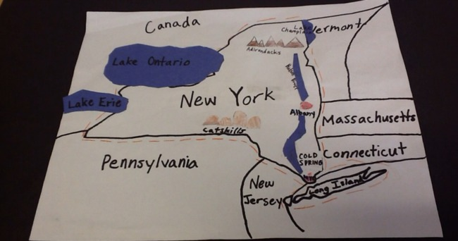 Map Of New York State 4th Grade.Animated Learning Jbfc Edu