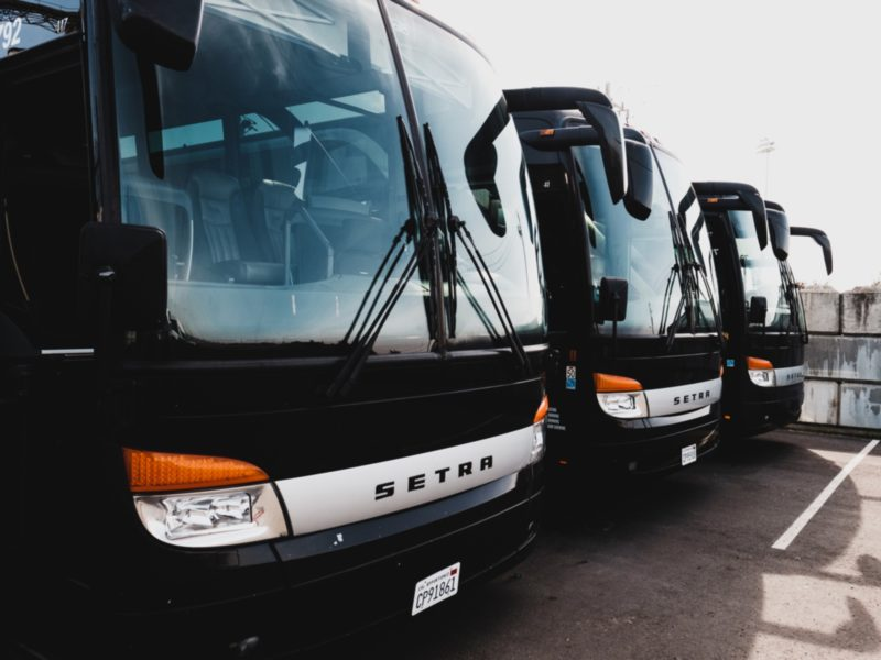 Charter Bus Types and Rental Prices