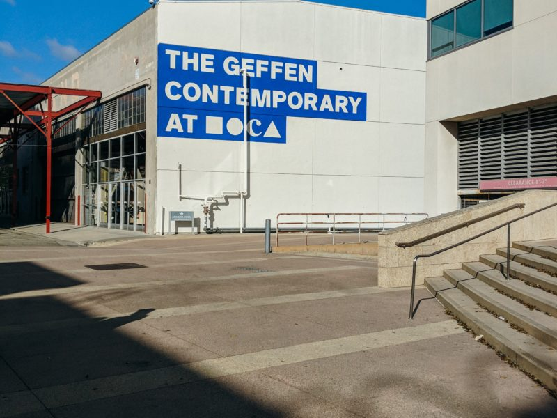 6. Parking your bus at The Museum of Contemporary Art (MOCA)