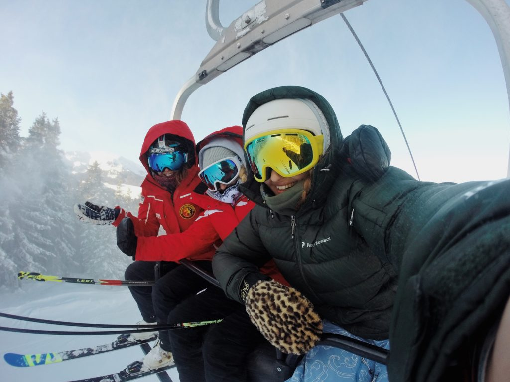 Transport staff to a company ski weekend with charter bus rentals.