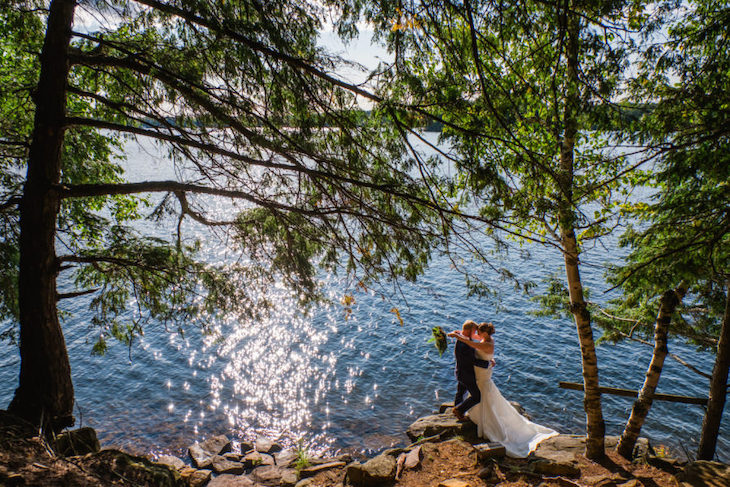 Rent a shuttle bus to Lumina Resort for your Toronto wedding.