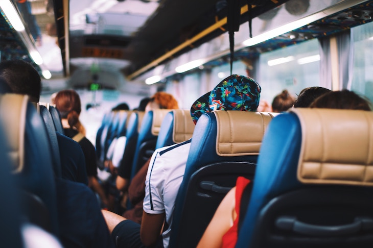 Whole bus rentals are great for transporting large groups to an event.