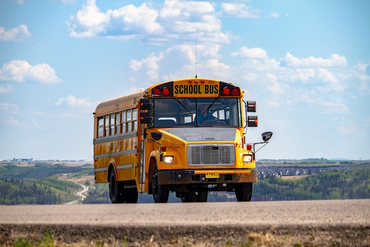 Rent a whole bus to transport your entire group to your destination.