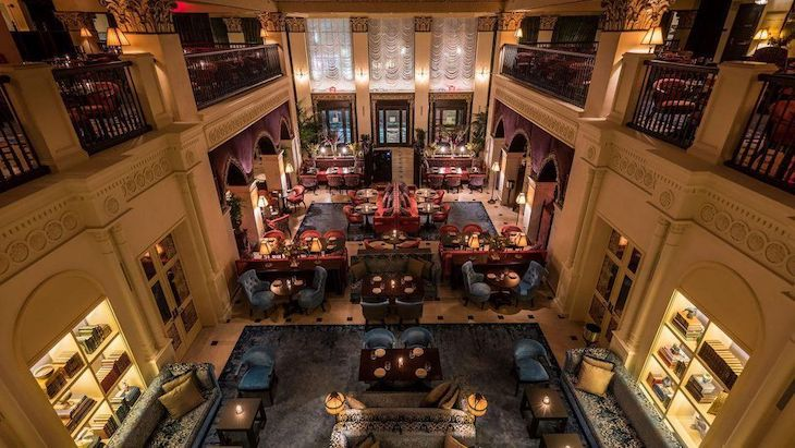 Charter bus rentals to NoMad Hotel Los Angeles.