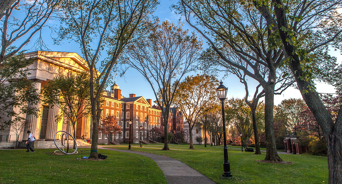 Organize a visit of Brown's university in Rhode Island, and get there by charter bus rental.