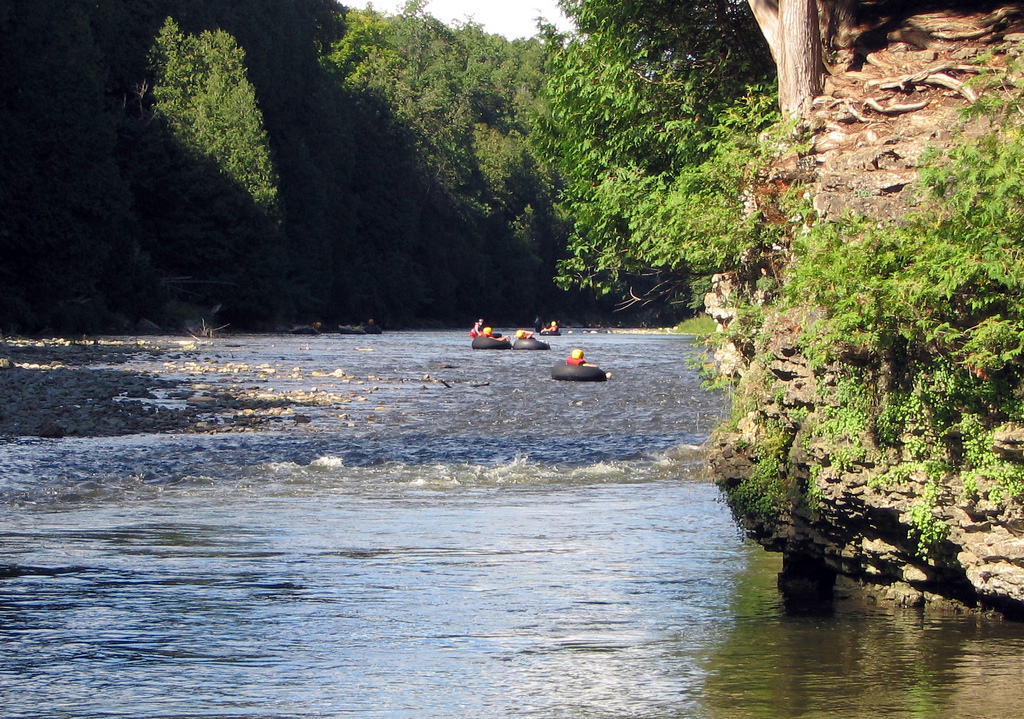 Get to Elora Gorge in a charter bus rental.