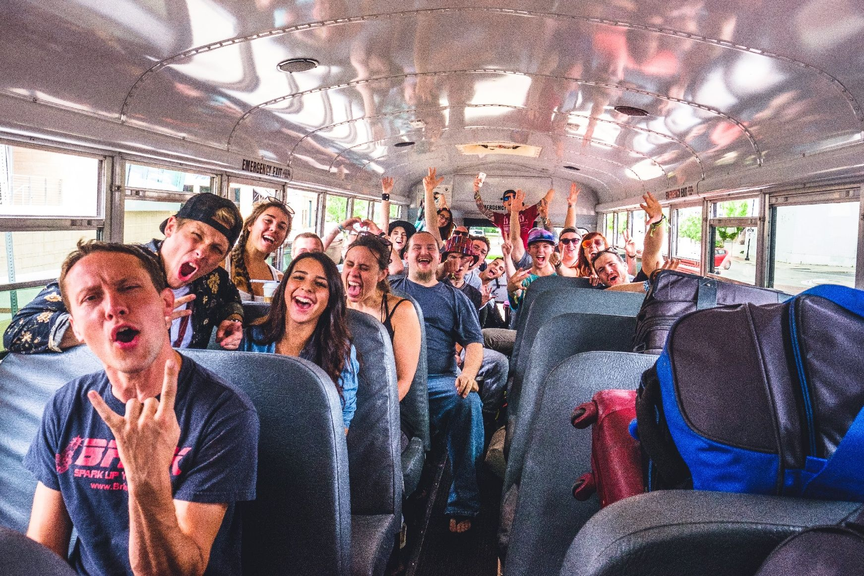 Group Games to Play on Long Bus Rides