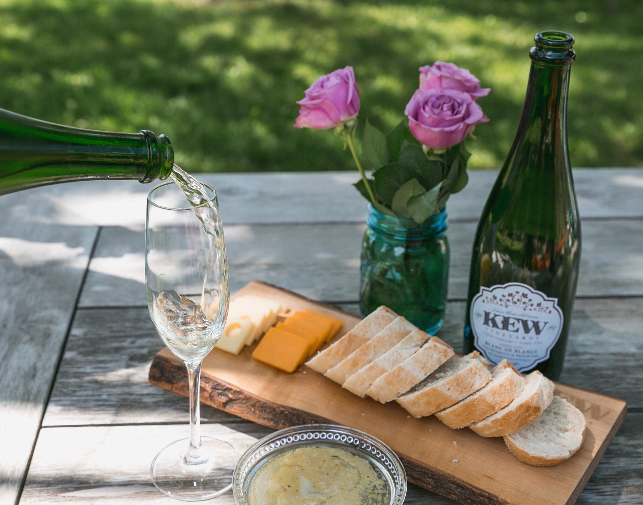Visit Kew Winery by renting a charter bus.