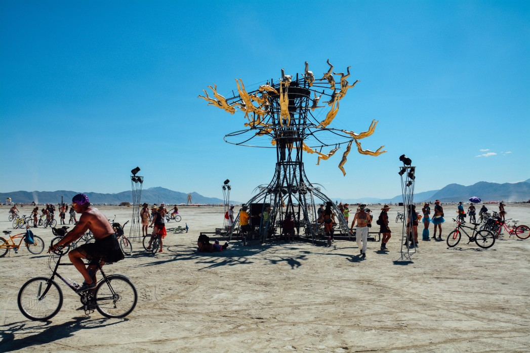 Make your way to Burning Man with a charter bus rental.