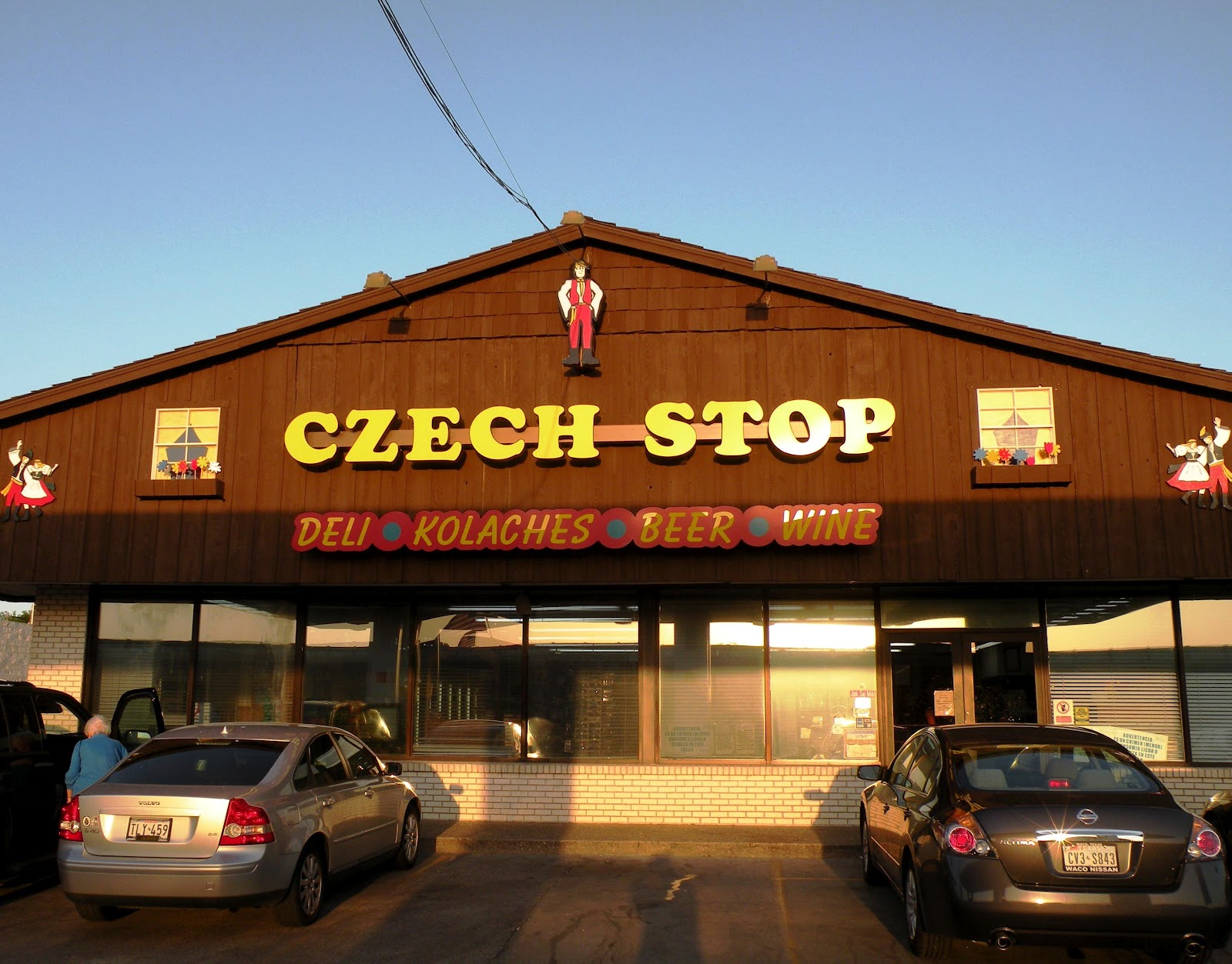 Come by the Czech Stop by renting a charter bus.