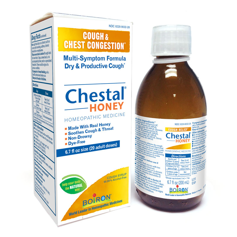 Chestal<sup>®</sup> Honey Cough & Chest Congestion