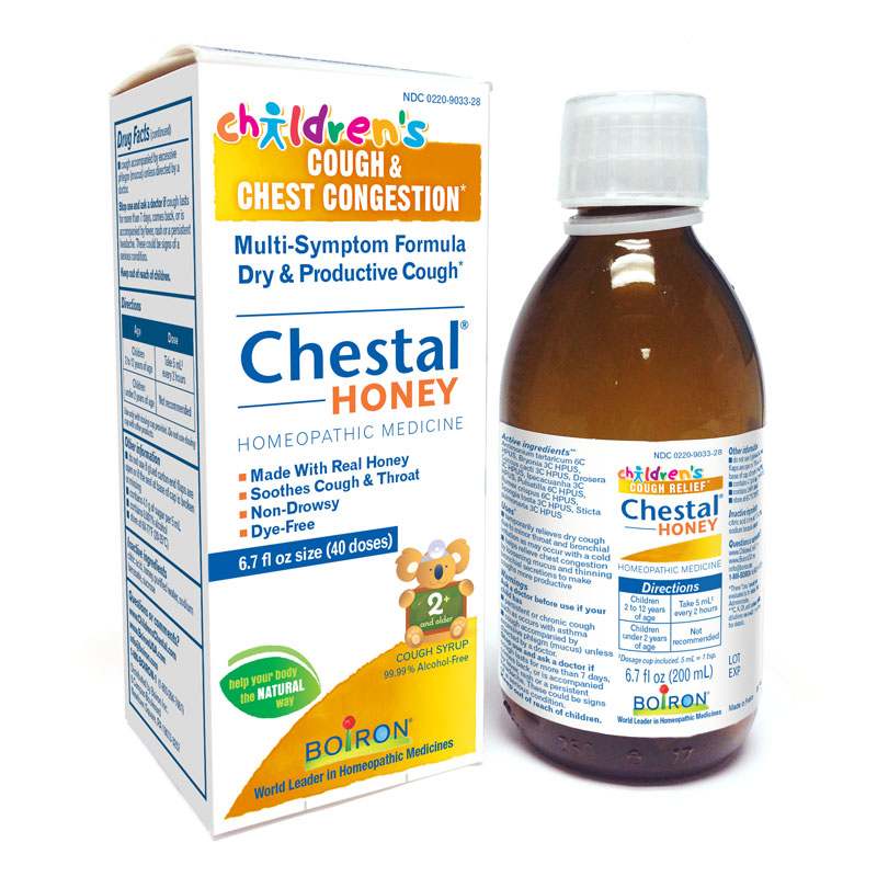 Children's Chestal<sup>®</sup> Honey Cough & Chest Congestion