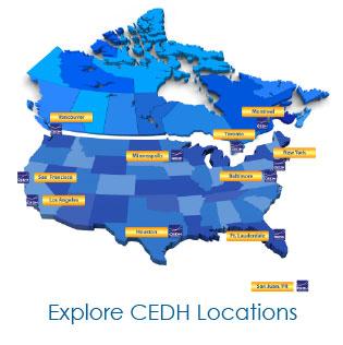 CEDH Map