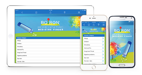 Boiron Medicine Finder App
