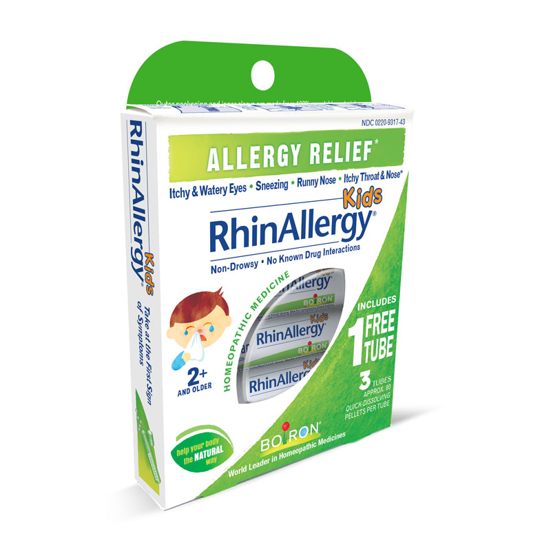 RhinAllergy<sup>®</sup> Kids Pellets