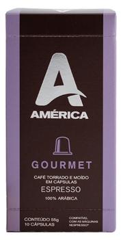 Café América Gourmet - Cápsulas 10 Unidades