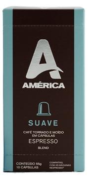 Café América Suave - Cápsulas 10 Unidades