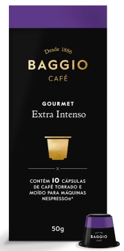 Café Baggio Extra Intenso em Cápsulas 10 unidades