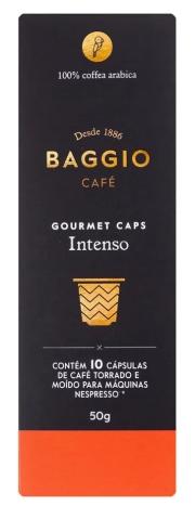 Café Baggio Intenso em Cápsulas 10 unidades