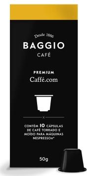 Café Baggio Premium Caffé.Com - Cápsulas 10 Unid